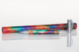 """Oil Slick"" Kitless Pen Blank"