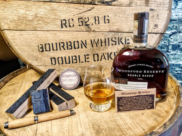 Woodford Reserve Double Oaked Barrel Wood Blanks