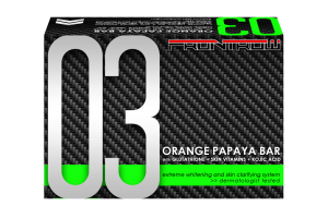Luxxe Celebrity Soap 03 - Orange Papaya Bar