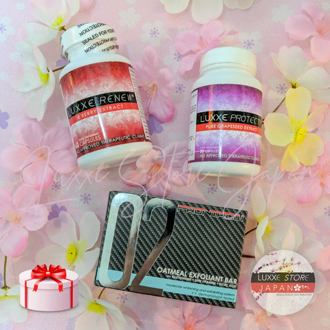 Sakura Promo A5 - Anti-Aging, Immune Booster & Exfoliant Package