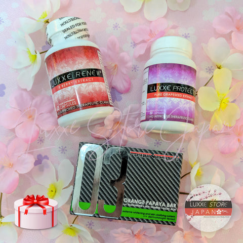 Sakura Promo A6 - Anti-Aging, Immune Booster & Anti-Pimple Package