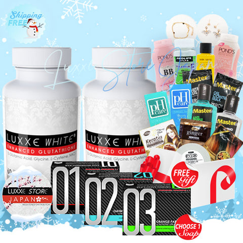 Set B-Winter Promo (Double Whitening)