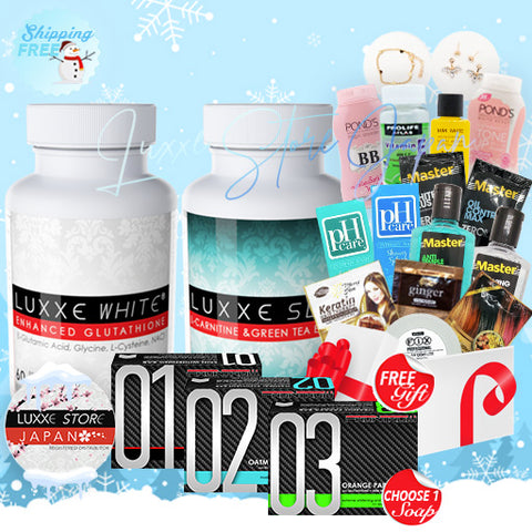 Set D - Winter Promo (Whitening + Slimming)