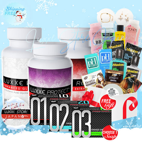 Set E - Winter Promo (Whitening + Anti-Stress/Fatigue + Anti-Aging)
