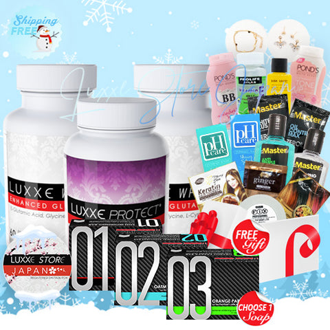Set J - Winter Promo (Double Whitening + Anti-Stress/Fatigue)