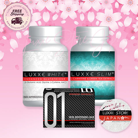 Set D1 - Premium Whitening and Slimming Package