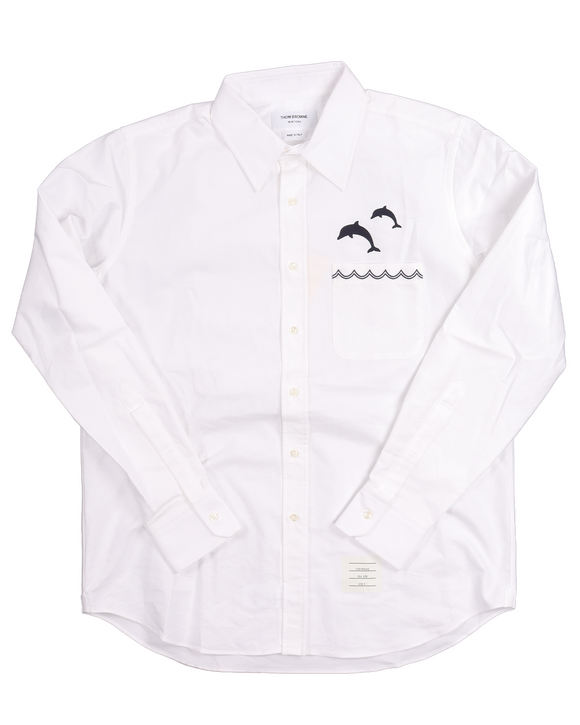 Dolphin Logo Button Shirt w/ Tags