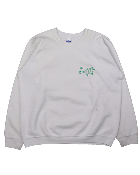 1980's Beverly Hills Hotel Embroidered Sweatshirt