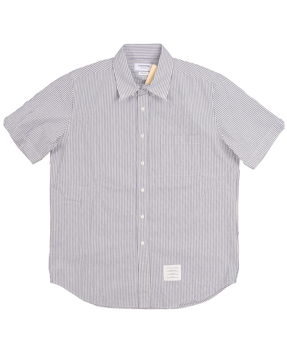 Straight Fit Short Sleeve Seersucker Shirt w/ Tags