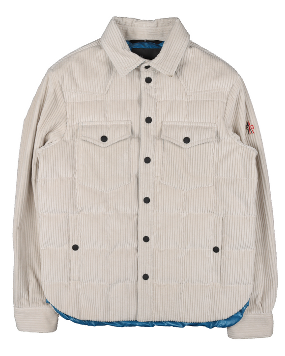 Corduroy Button Snap Jacket