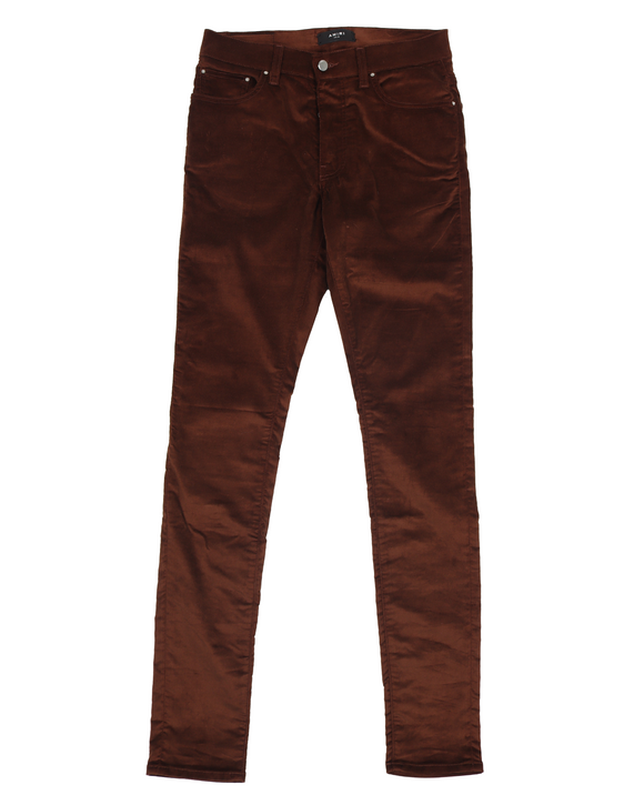 Brown Velour Pants