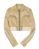 Babel Little Joe SS19 Calf Skin Leather Jacket