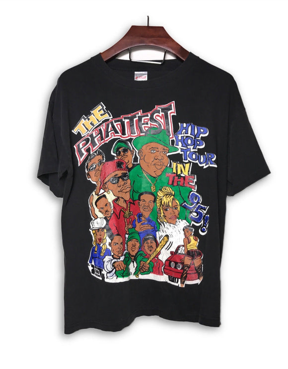 BET The Phattest Hip Hop Tour 1995 Vintage T-Shirt