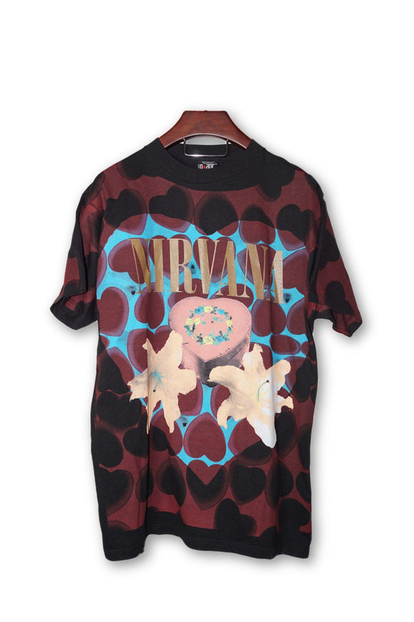 Nirvana Kurt Cobain Heart Shaped Box Vintage DS T-Shirt