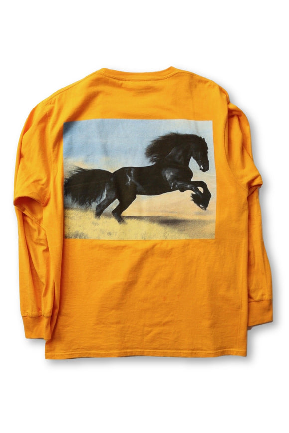 Stallion Long Sleeve T-Shirt Sample