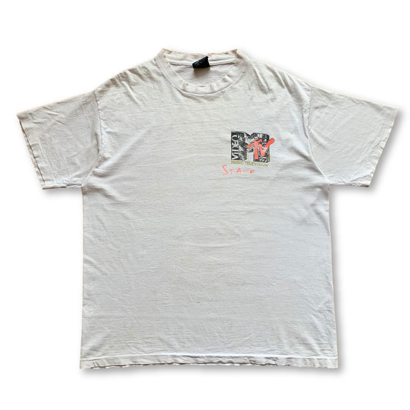 Vintage 1991 MTV VMA's Staff T-Shirt - XL