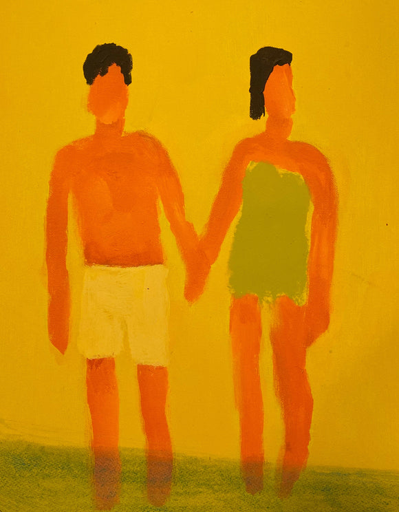Couple Yellow Beach, 2018