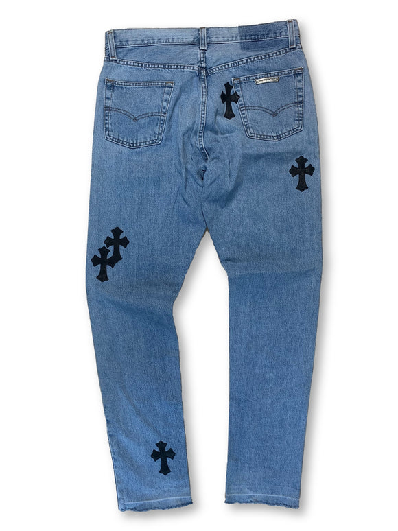 Chrome Hearts x Levi's Patchwork Denim