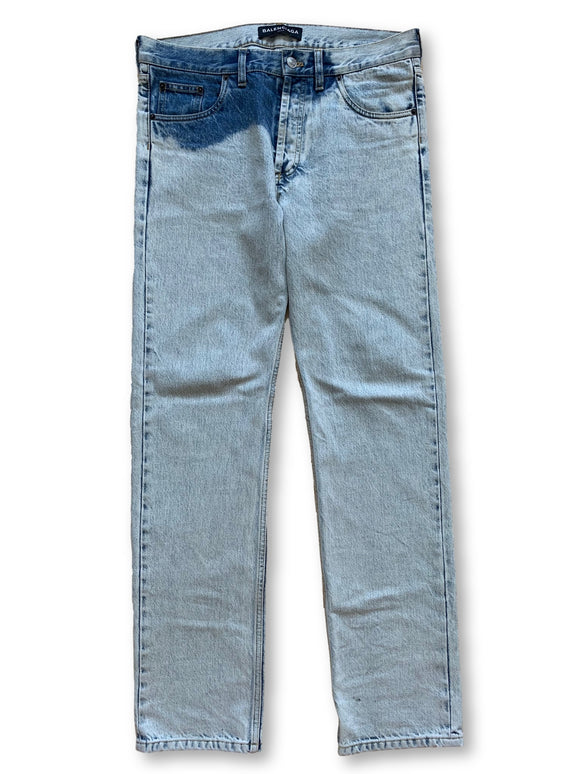 Balenciaga Light Stone Wash Denim - Size 32