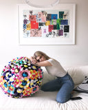Takashi Murakami Plush Flower Ball Large 60cm