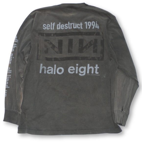 Vintage Nine Inch Nails Halo Eight Long Sleeve T-Shirt - XL