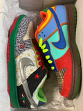 "Nike Dunk Low Pro SB ""What The Dunk"" - Size 10 - NEW"