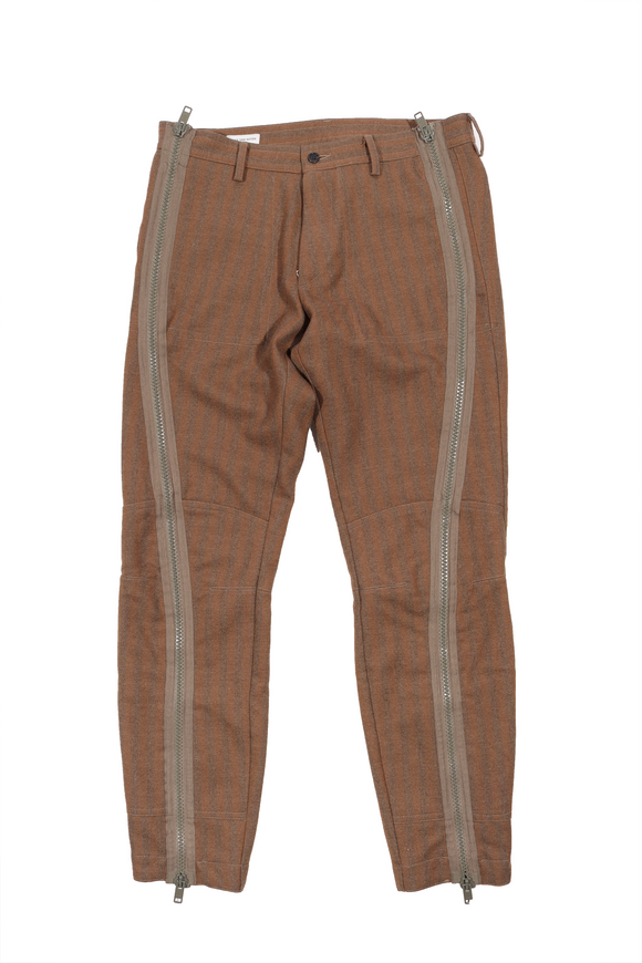Zip Accented Trouser