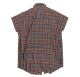 Second Collection Sleeveless Flannel Shirt