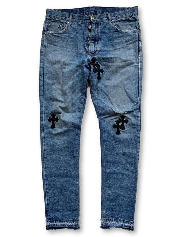 Chrome Hearts x Vintage Levi's Patchwork Denim - Size 35