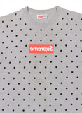 CDG Box Logo Tee SS12 - Heather Grey