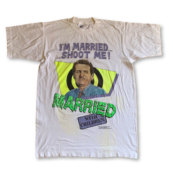 Vintage 1987 I'm Married Shoot Me