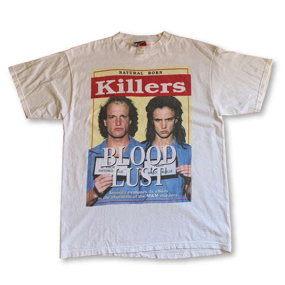 Vintage Natural Born Killers BLOOD LUST T-Shirt - XL