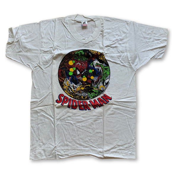 Vintage Deadstock 1990 Spiderman T-Shirt - XL