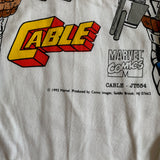 Vintage Deadstock Marvel CABLE T-Shirt - XL