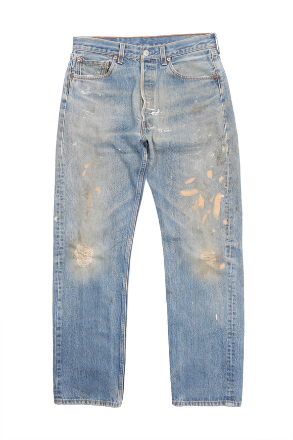 Levi's 501 Painter Denim