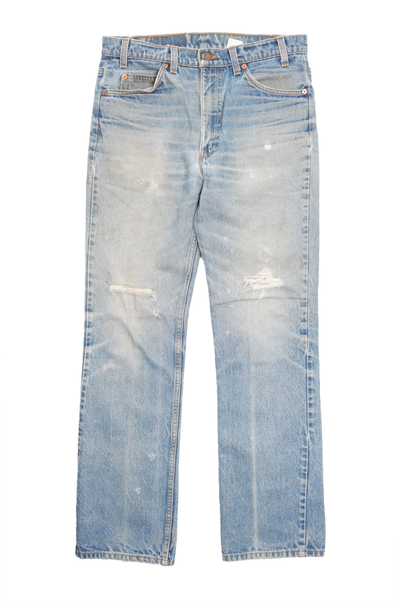 Levi's 517 Orange Tab Denim