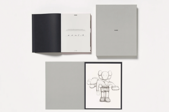 Limited Edition Art Book with Screenprint