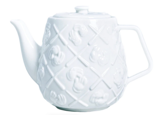 Ceramic Teapot White