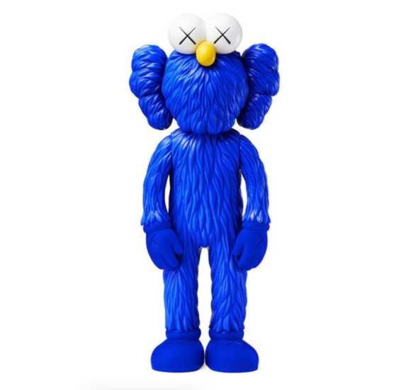 BFF Open Edition Vinyl Figure Blue