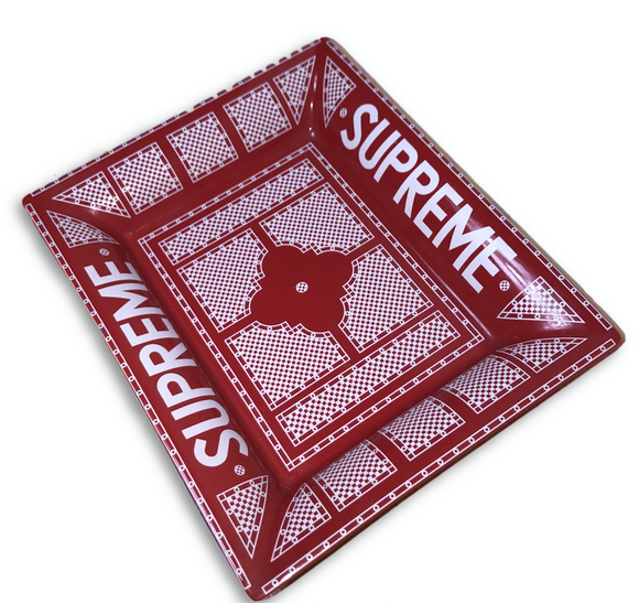 Supreme SS12 Ceramic Classic Red Ashtray