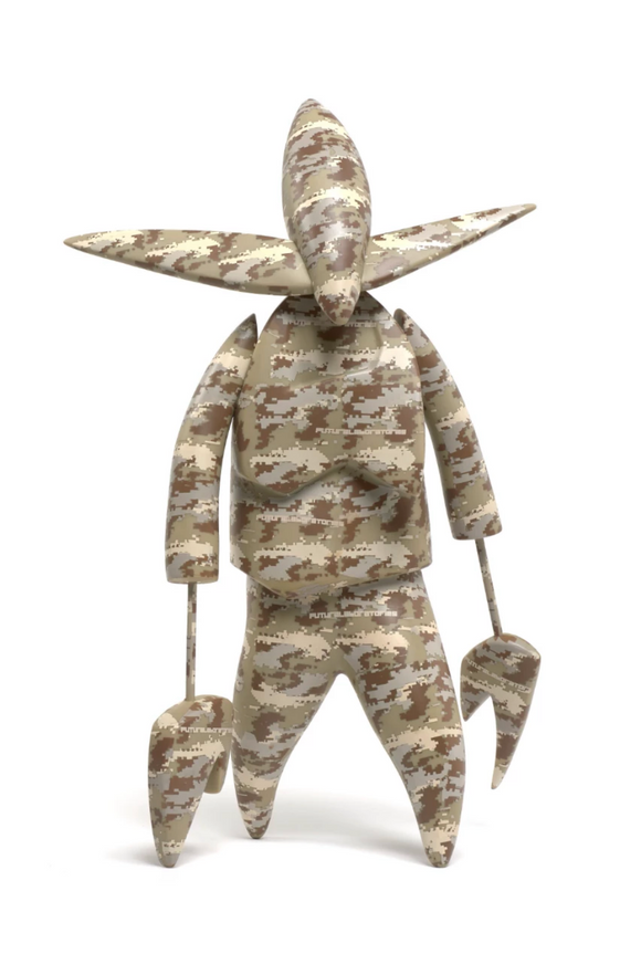 2000 Laboratories Nosferato Unkle Brown Camo Figure