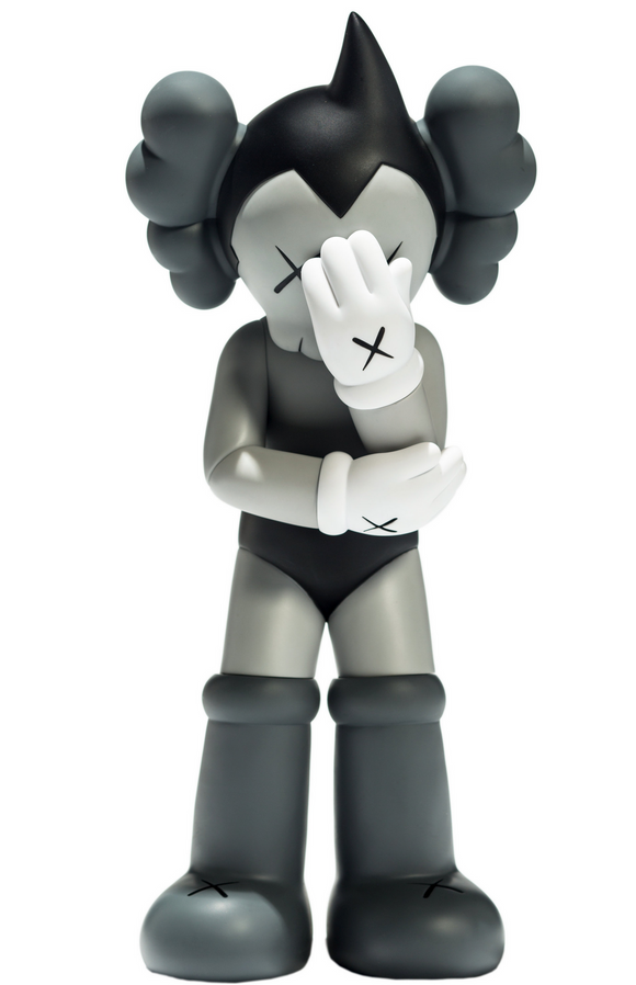 Astro Boy Vinyl Figure - Grey (2012)