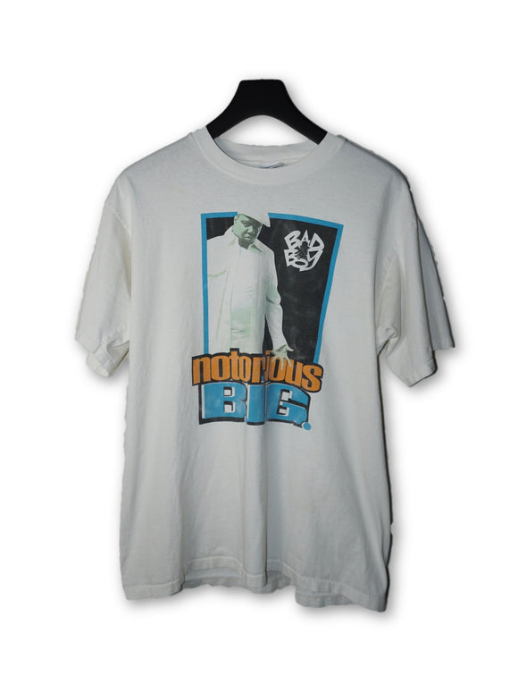 Notorious BIG Biggie Vintage White T-Shirt