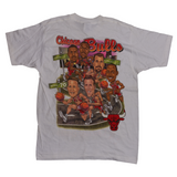 1995-96 Chicago Bulls '70 WINS' Logo T-Shirt