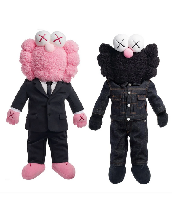 BFF Dior Plush Set - Pink/Black