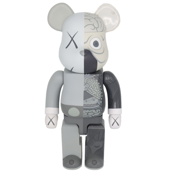 Dissected Bearbrick 400% Companion (Grey), 2010