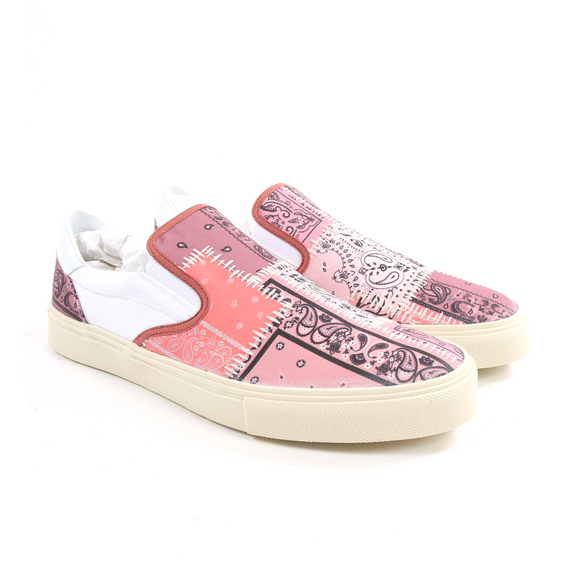 Bandana Paisley Reconstructed Sneaker w/ Tags