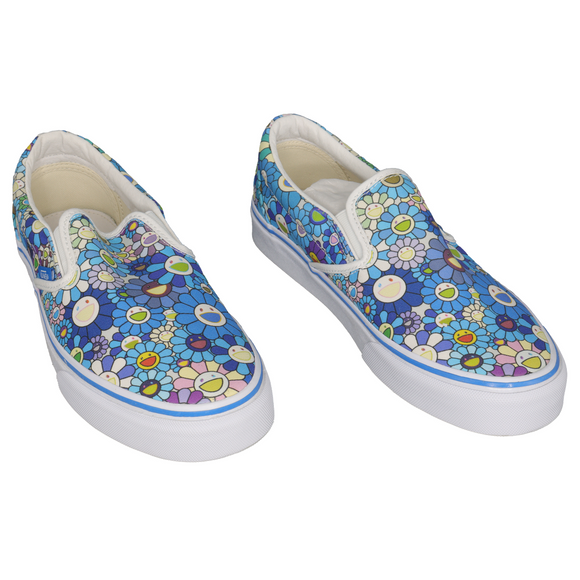 Slip-On LX Murakami Blue Flower