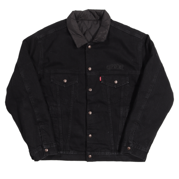 AW18 Levi's Quilted Reversible Trucker Jacket