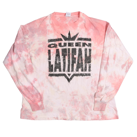 Queen Latifah Tie Dye Long Sleeve T-Shirt